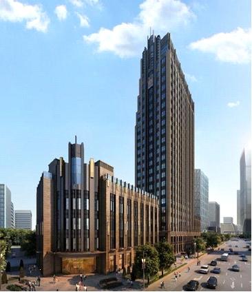 新設中國總部坐落於上海長泰企業天地廣場頂層
